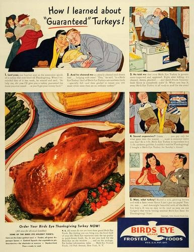 vintage turkey advertising