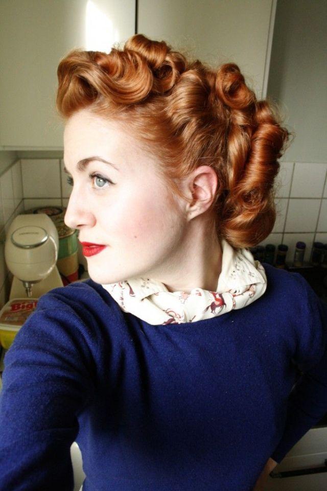 Vintage Retro Hairstyle