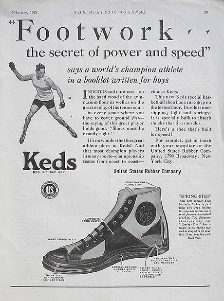 1920s Vintage Keds Advertising