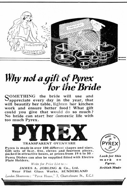 1926 Pyrex Prams Advert