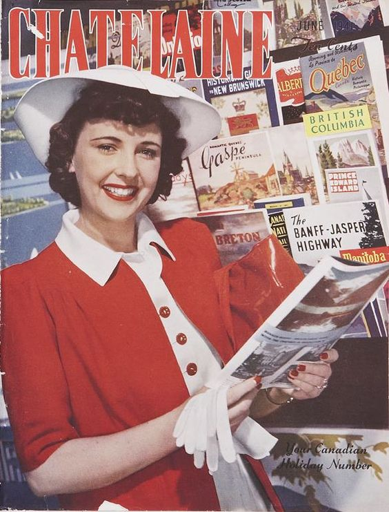 1941 Chatelaine vintage magazine cover