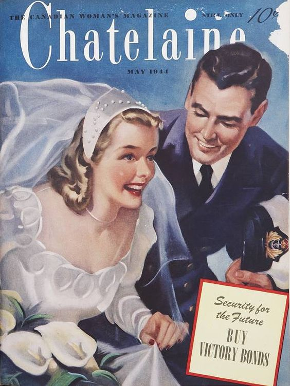 1944 Chatelaine Magazine cover