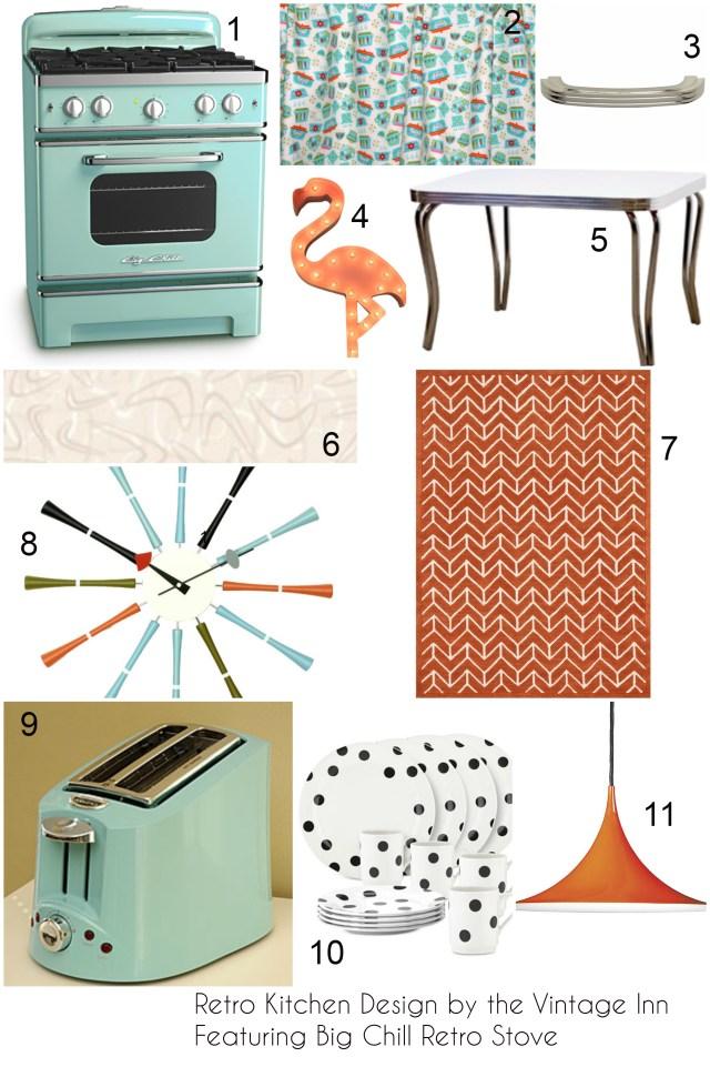 Big Chill Retro Appliances Vintage Inn Blog Collage