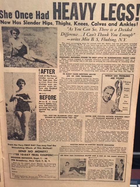 1950s vintage advertising
