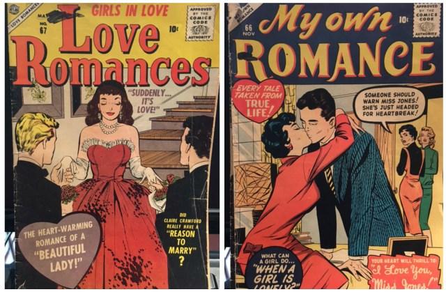 1950s 1960s Romance Comic