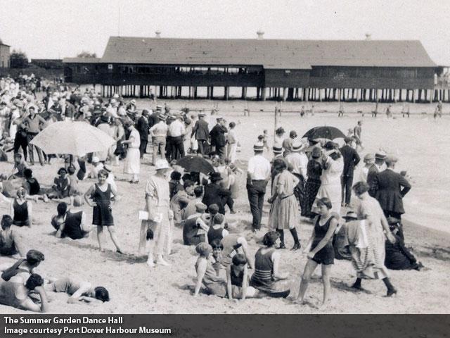 Port Dover Summer Garden 1920s