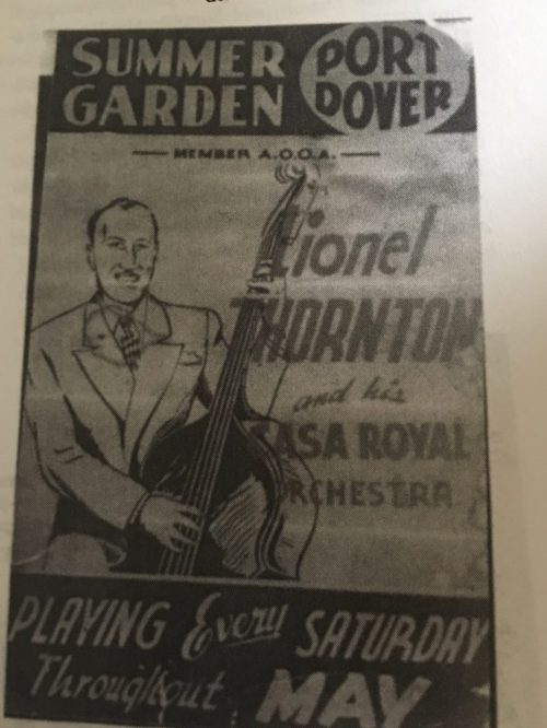 Port Dover Summer Gardens Big Band Poster