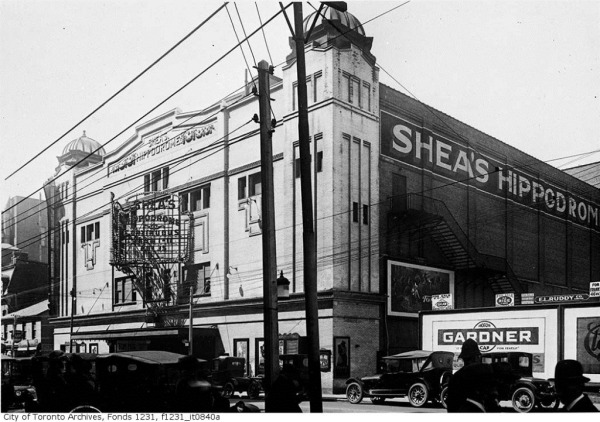 Toronto Vintage Theatre-Shea's Hippodrome – 440 Bay St., Toronto