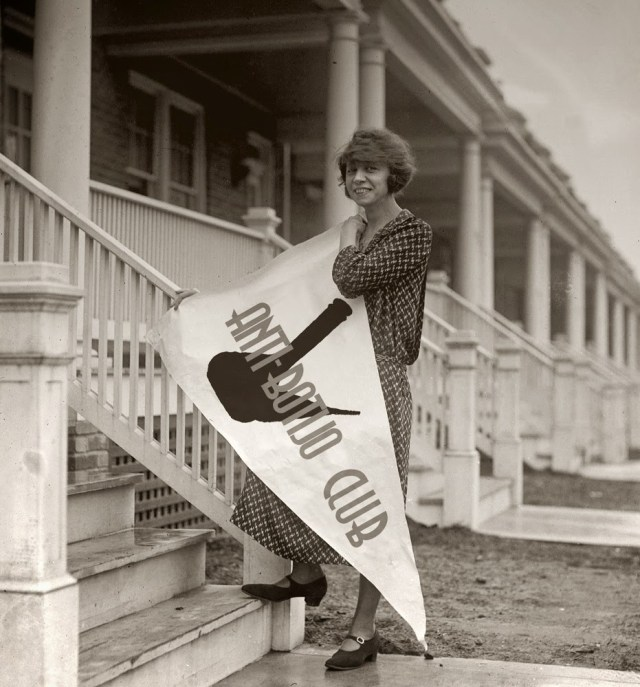 1920s young woman vintage photo The Anti-Flirt Club