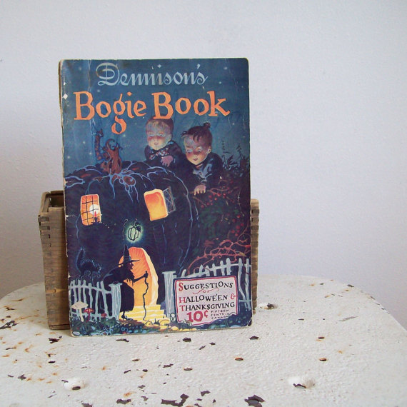 antique-halloween-dennisons-bogie-book-authentic-1925-halloween-thanksgiving-suggestions-decorating-and-entertaining-front-cover