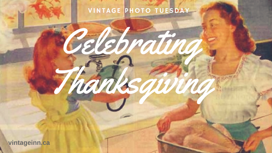 Vintage Photo Tuesday: Celebrating Thanksgiving with vintage images