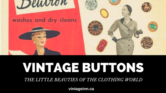 Vintage Buttons Blog Post