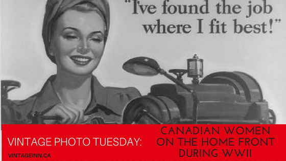vintage-photo-tuesday canadian women during ww2