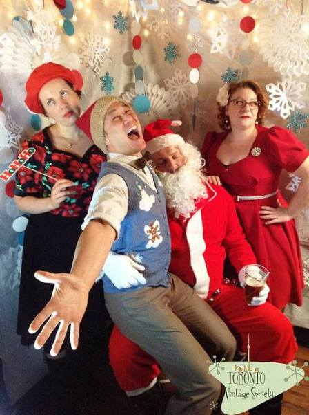 Toronto Vintage Society Kitschmas Cabin 2014
