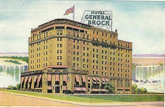 Hotel General Brock Postcard