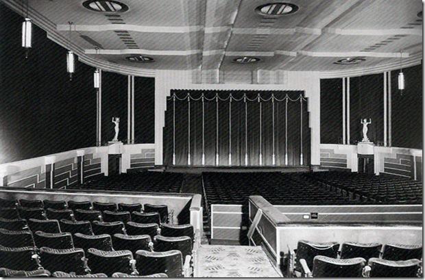 Interior of the Eglinton Theatre Toronto Archives
