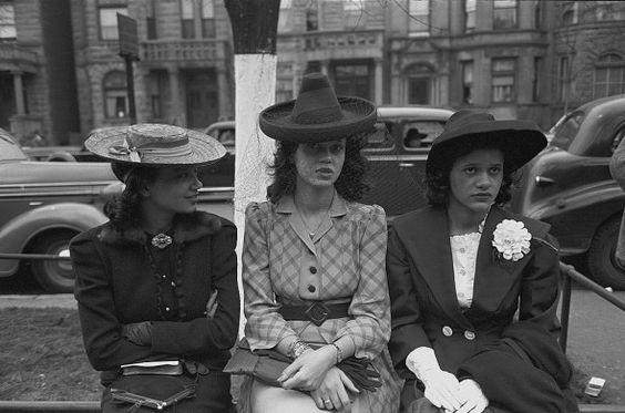 1940s vintage fashion