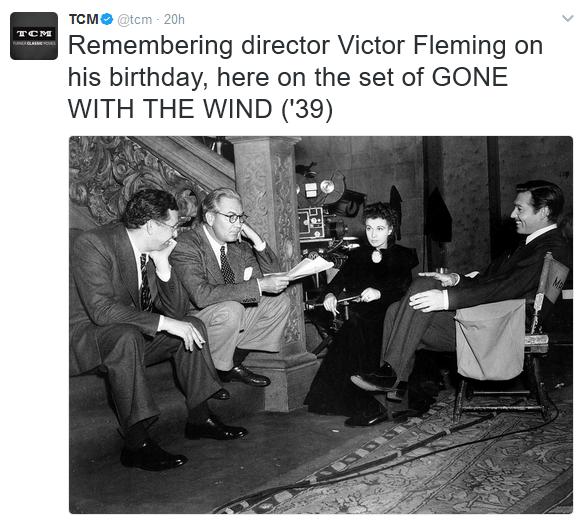 Turner Classic Movies Twitter