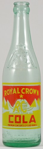 royal crown cola vintage bottle