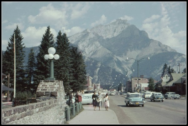 vintage everyday blog twitter account banff 1960s