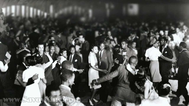 dancing at the savoy ballroom 1940s harlem