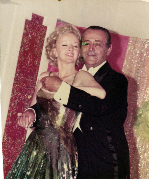 Jean and Frank Veloz dancing couple vintage image