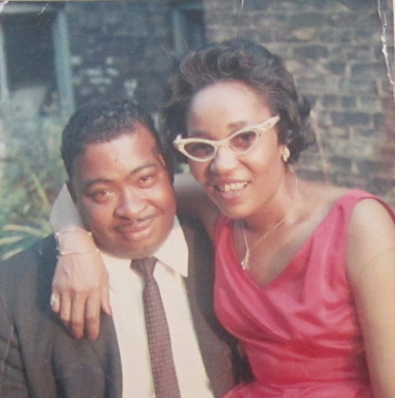 Original 1960's Young Black African American Couple Photo