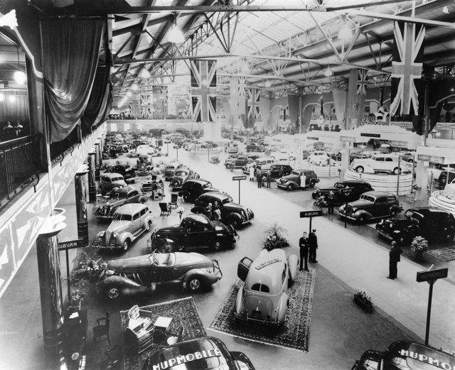 CNE Auto Show 1936 Image of Vintage Cars