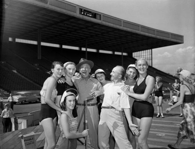 Jimmy Durante & Friends, 1951 vintage image at CNE