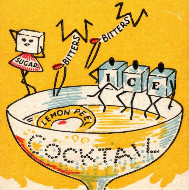 1950s cocktail drink image