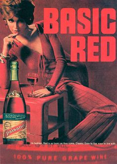 1970's wine advertisement