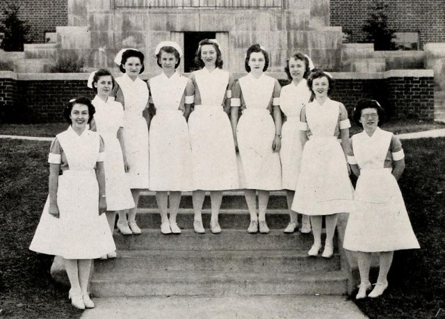 Freshman Class, North Carolina Baptist Hospital School of Nursing, 1944