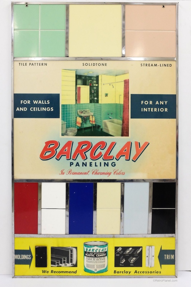 Barclay-Samples 1940s