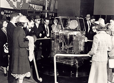 1939 RCA Transparent TRK-12 Television at the World's Fair