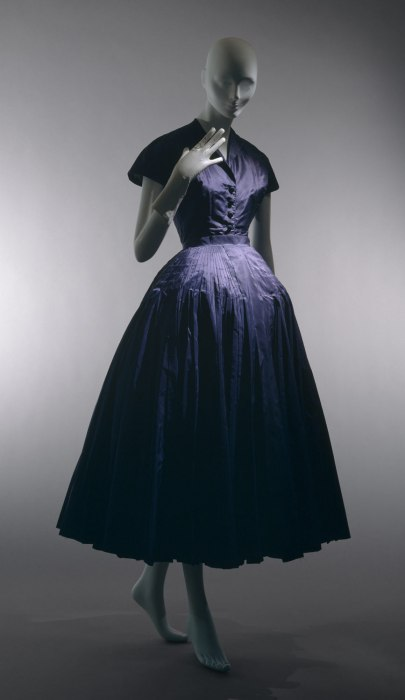 Dior New Look 1947 1948 vintage dress
