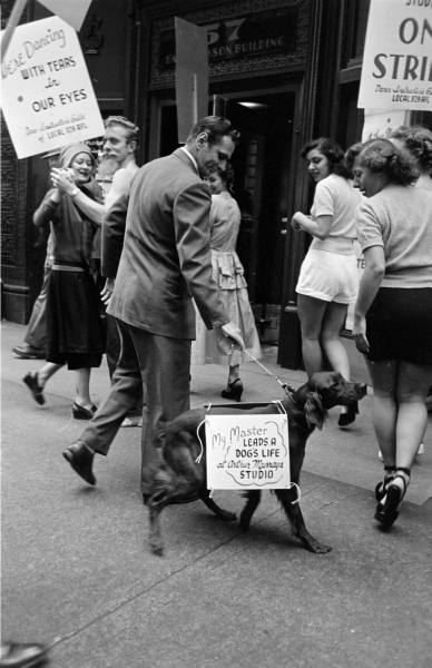 LIFE Dancing Teachers Strike Sept 9th, 1949 Vintage Image 6
