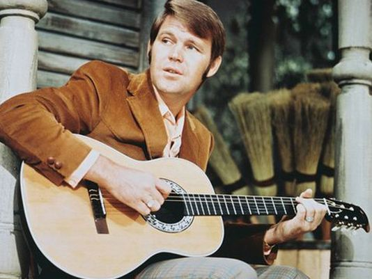 Glenn Campbell 1960s Capital Records handout