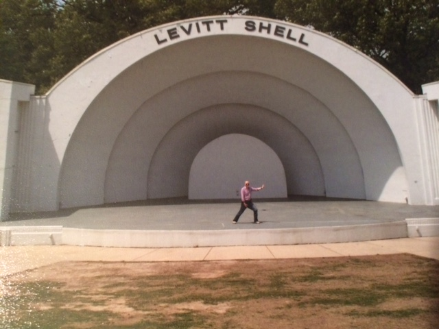 Gene Stevens Zoomer Radio on the Levitt Shell Stage in Memphis