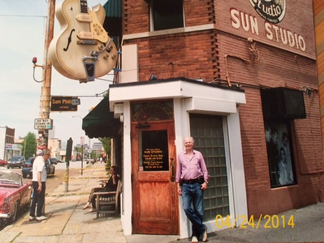 Gene Stevens Zoomer Radio at SUN Records studio on Union Avenue
