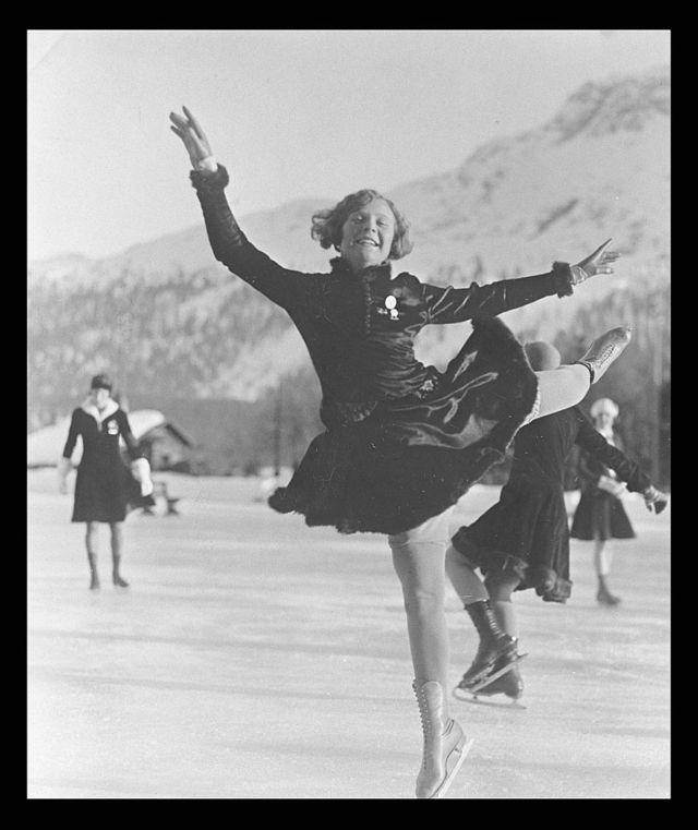 Sonja Henie 1928 Winter Olympics