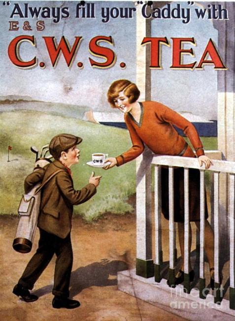 1920s Tea Advertising Vintage Ad