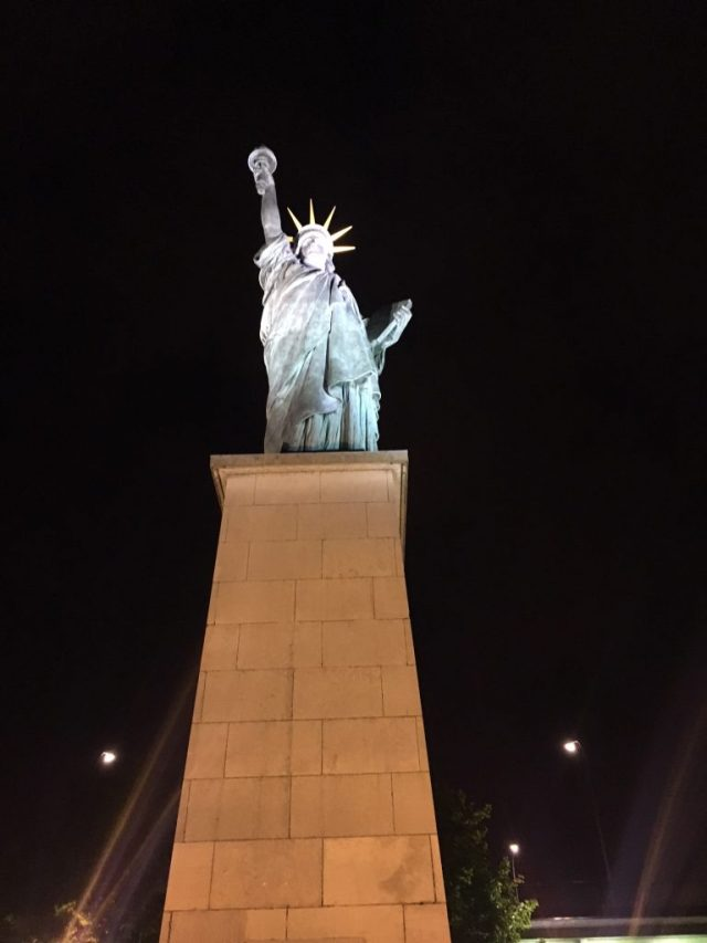 Statue of Liberty Paris, France