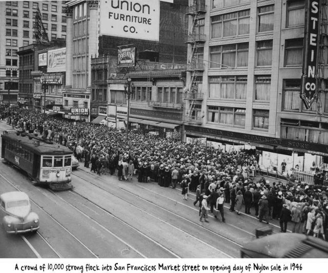 1946-San-Francisco-Nylon-hosiery-queues