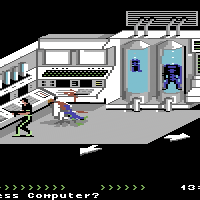 Retro Revisited: We review Project Firestart, a cinematic survival horror for the C64!
