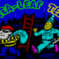 Grab the swag in Tea-Leaf Ted, a new ZX Spectrum title by Jamie Grilo!