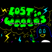 New Russian Speccy Platformer Lost in Worlds Released!