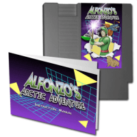 NES game 'Alfonzo's Arctic Adventure' Kickstarter campaign is on and surpasses its goal in less than 2 days