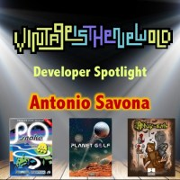 Developer Spotlight - Antonio Savona (P0 Snake, Planet Golf 64, l'Abbaye des Morts 64)