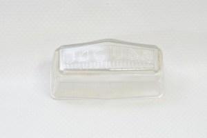 Lucas L512 (53453) - License Plate Lamp Lens, NOS