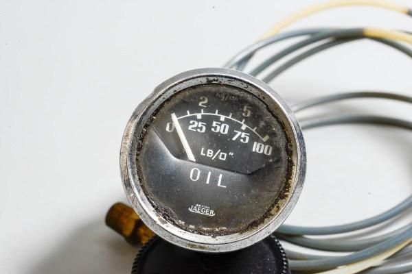 Jaeger PL 2303/03 - Jaeger Oil Pressure Gauge 2 inch